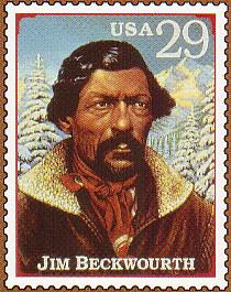 Jim Beckwourth stamp