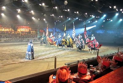 Medieval Times Dinner Theatre seating