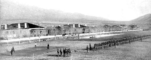 Fort Grant, c.1885.