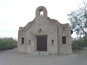 The San Pedro Chapel, also known as the San Pedro de Fort Lowell (St. Peter's at Fort Lowell Mission).