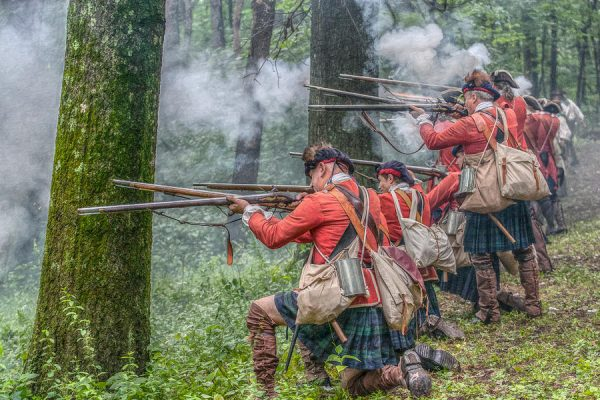 Battle of Bushy Run 250th Anniversary - Highlanders