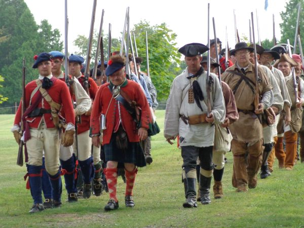 Battle of Bushy Run Reenactment participants